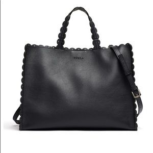 NEW Furla Merletto Onyx tote. SOLD OUT EVERYWHERE